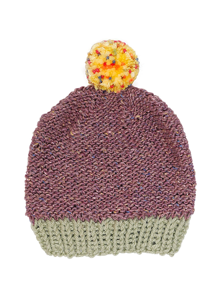 Natty Peeps Kid Knit Hat