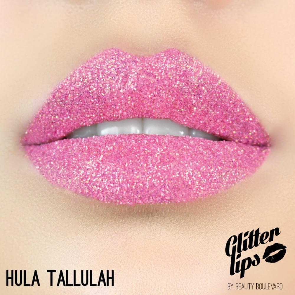 Hula Tallulah Glitter Lips by Beauty Boulevard