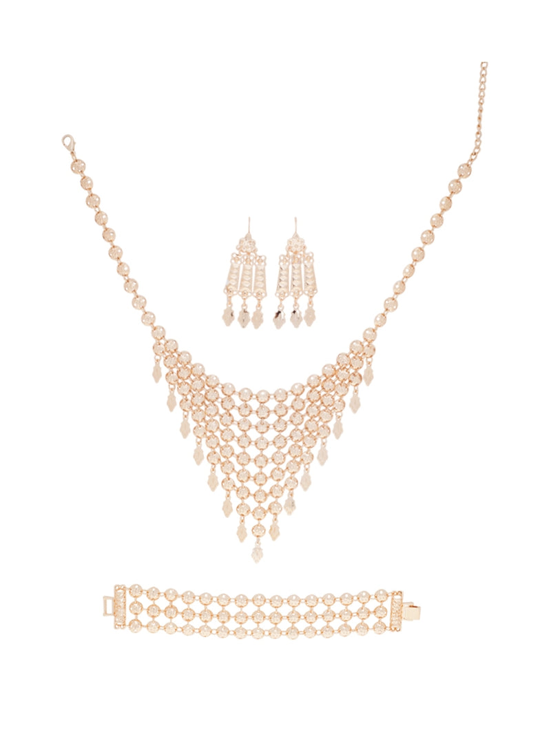 Melbourne Necklace and Earring Set