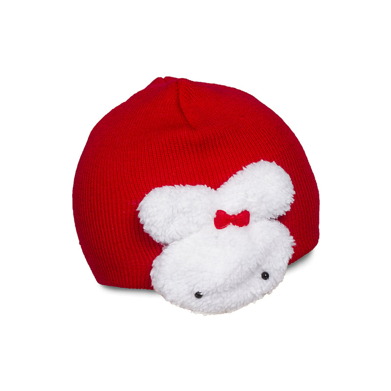 Bunny Beanie-Red