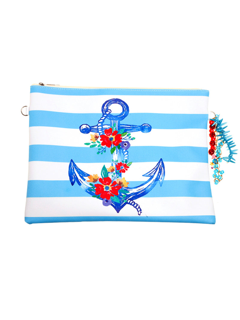 Nautical Make-Up Bag