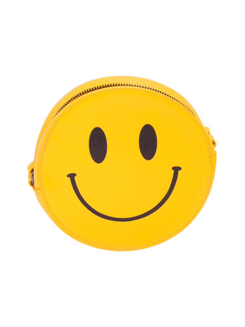 Yellow Smiley Cross Body Bag