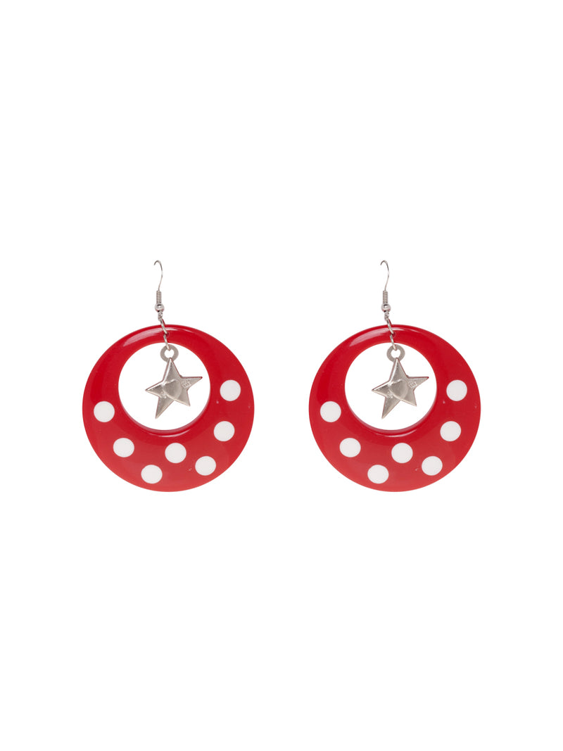 Cabuyaro Red Earrings