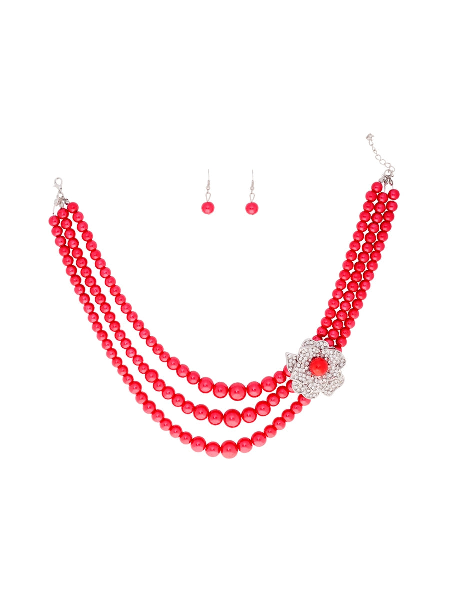 Canberra Necklace and Earring Set