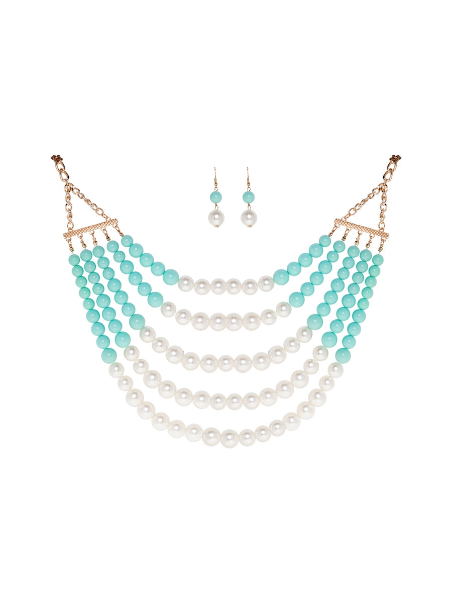 Hobart Necklace and Earring Set