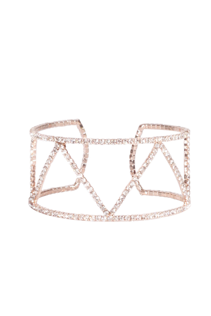 Diamante Embellished Cuff