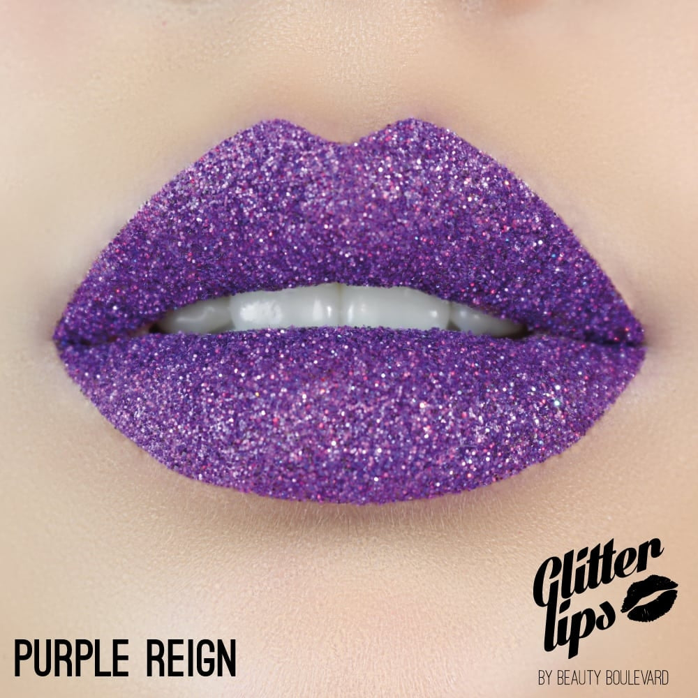 Purple Reign Glitter Lips by Beauty Boulevard