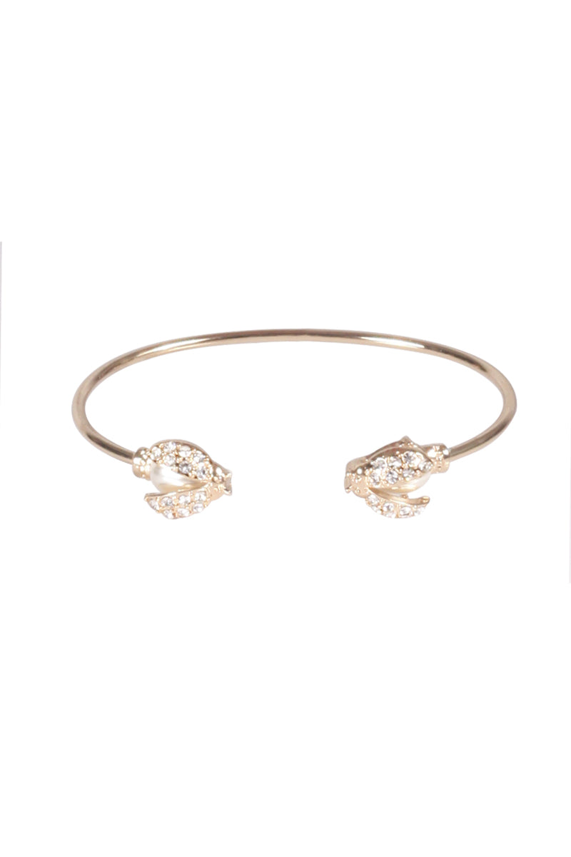 Gold Diamante Bangle
