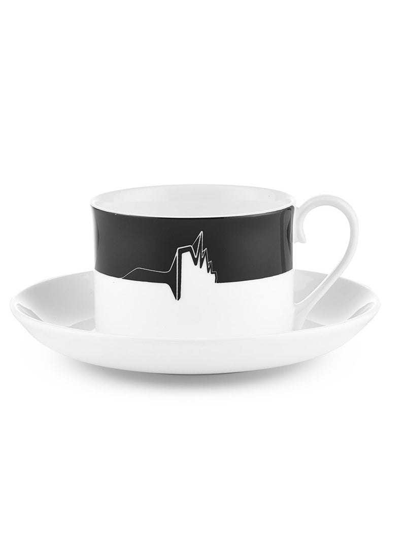 ICON TEA CUP AND SAUCER - RIVERSIDE