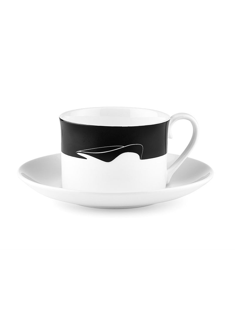ICON TEA CUP AND SAUCER - AQUATIC CENTRE