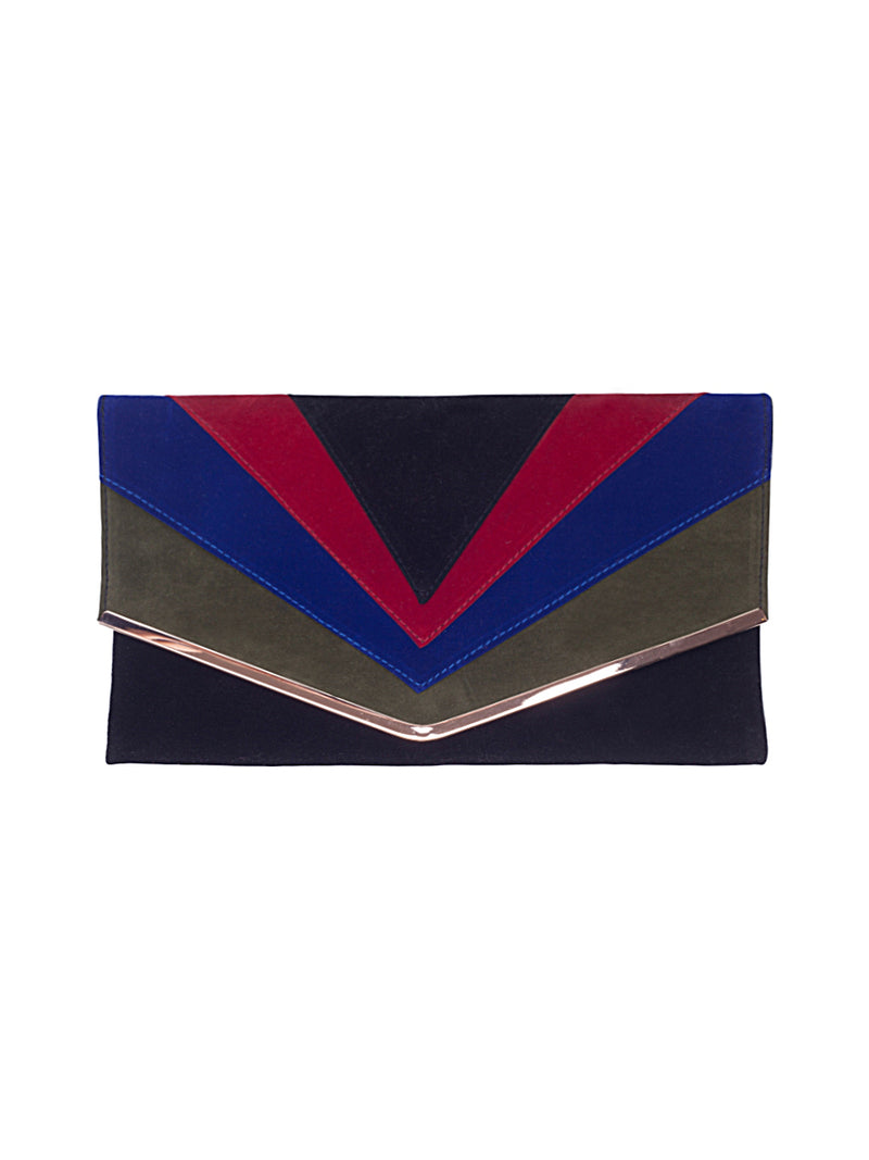 CASTELO BLUE CLUTCH BAG
