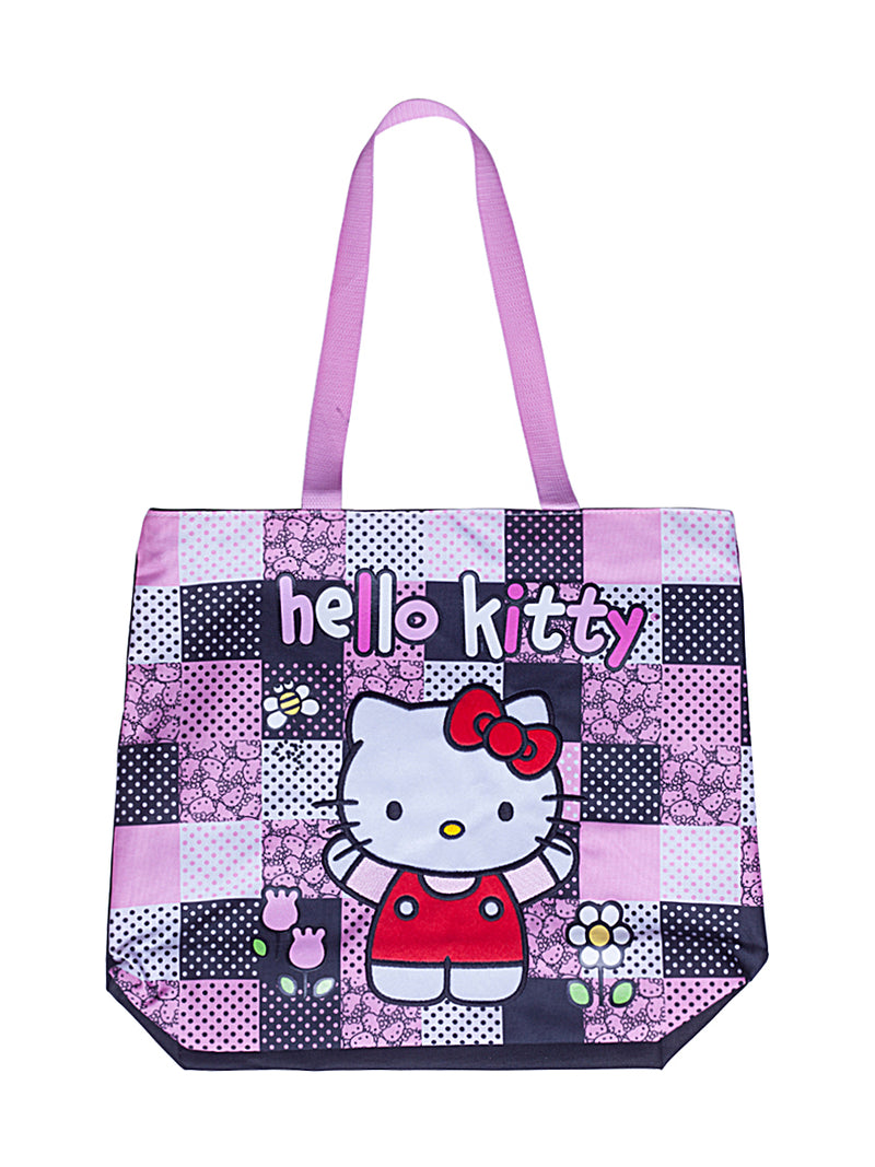 Hi Purple Cat Tote Bag