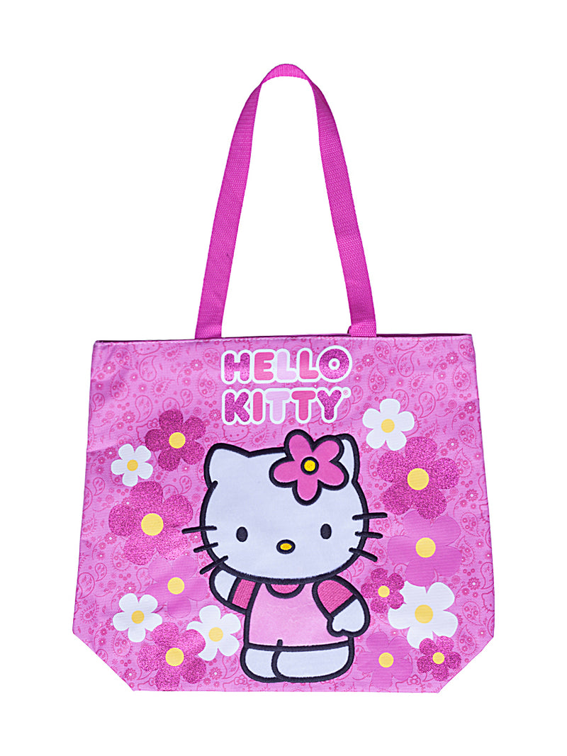Hi Pink Cat Tote Bag