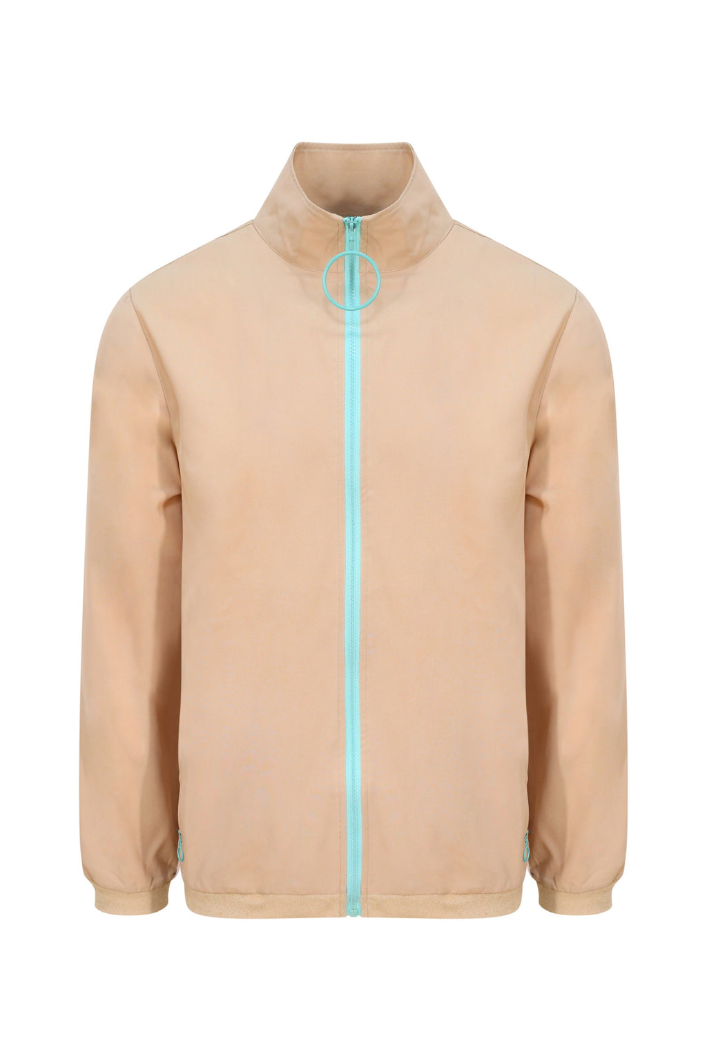 Unisex Hazelnut Loop Zip Front Jacket