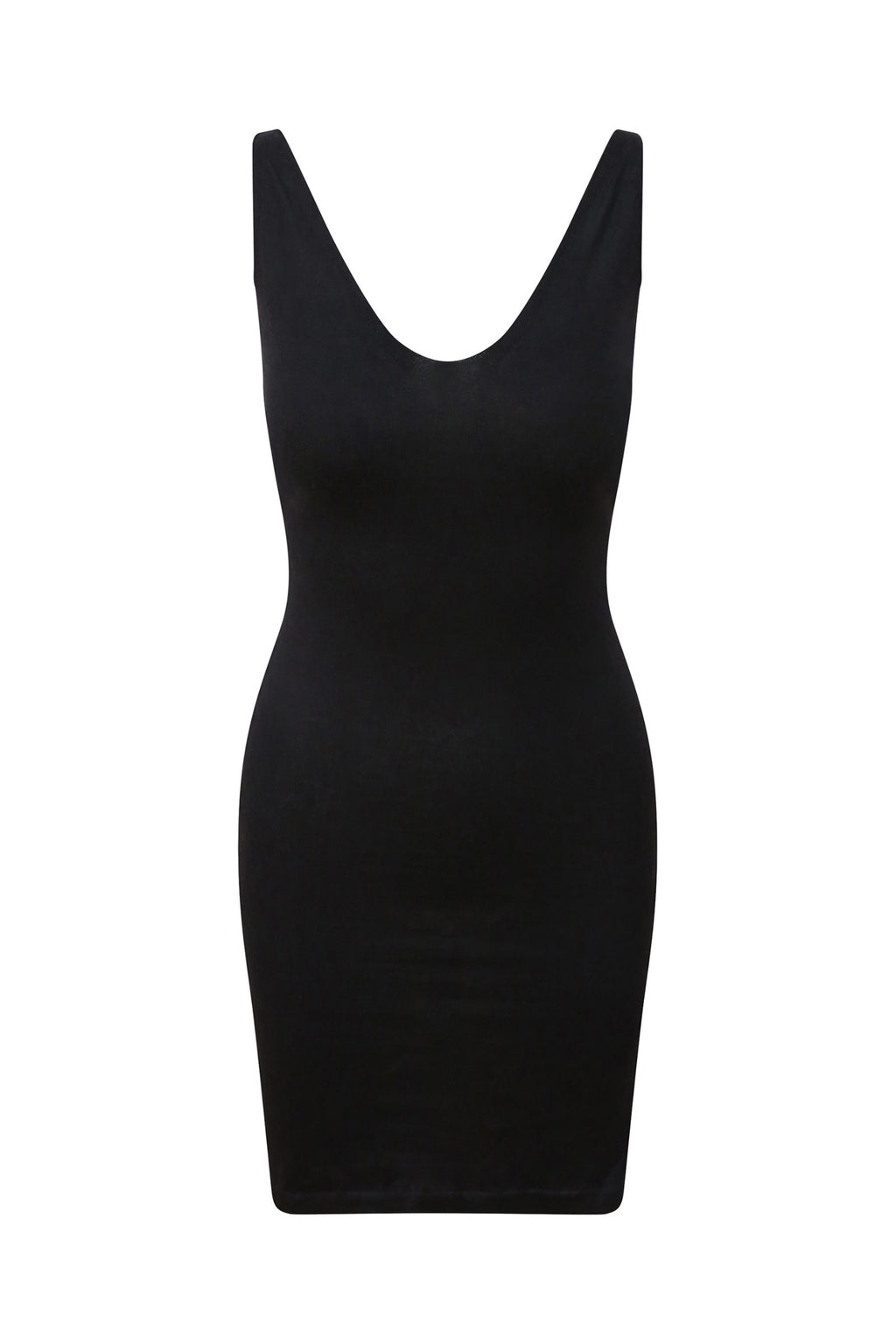 Black Cashmere Bodycon Dress