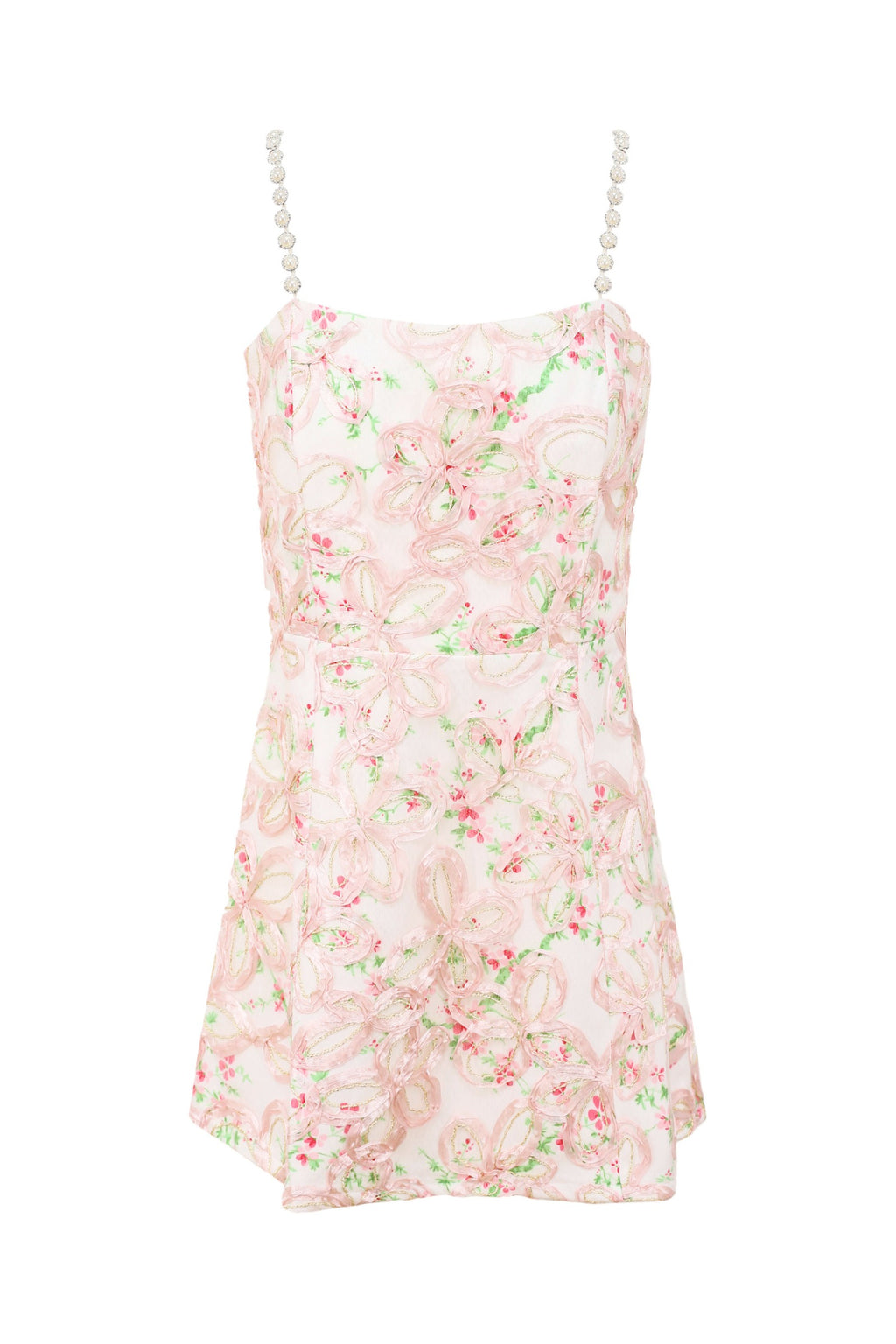 Pink Cherry Blossom Summer Dress