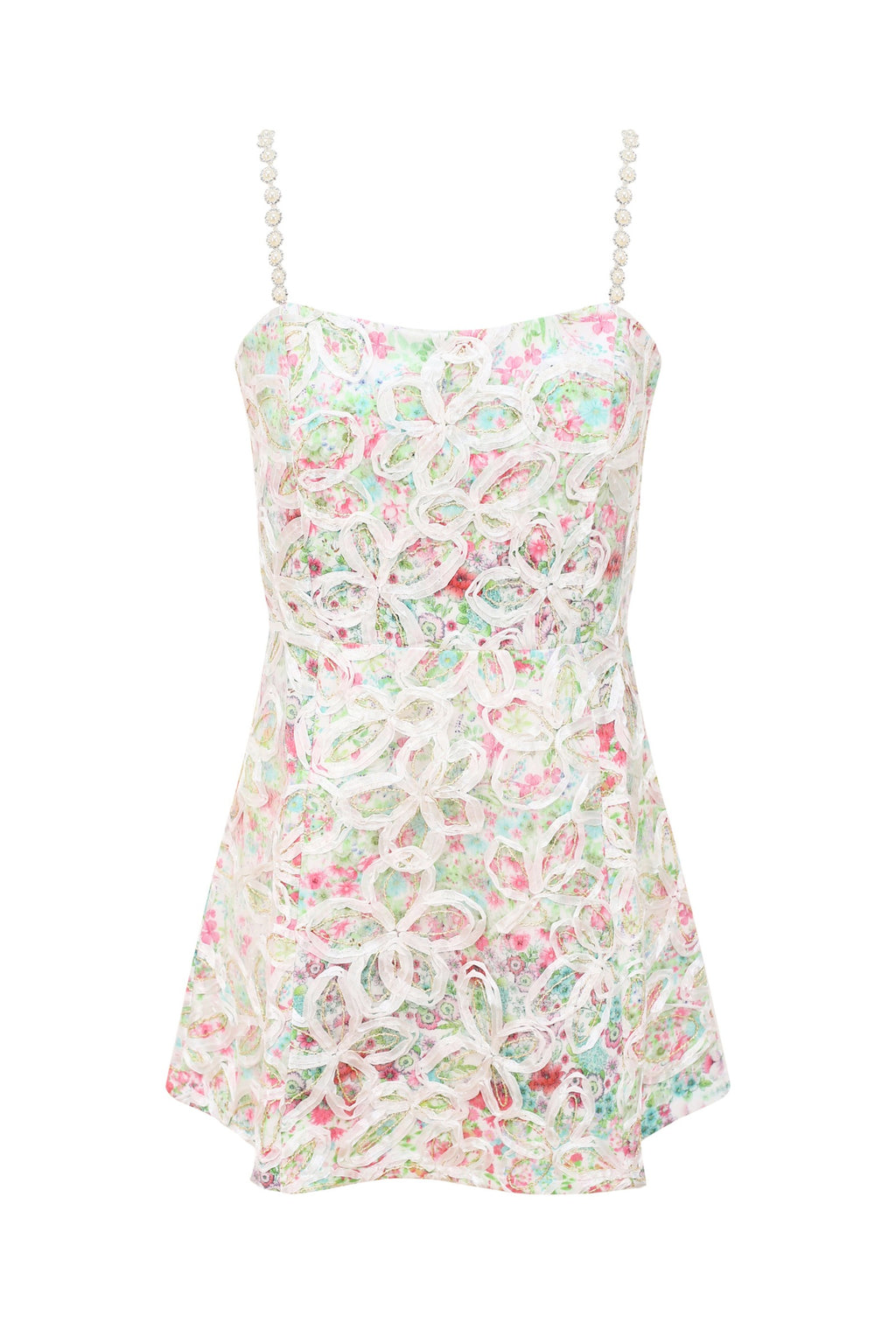 Floral Embroidered Summer Dress
