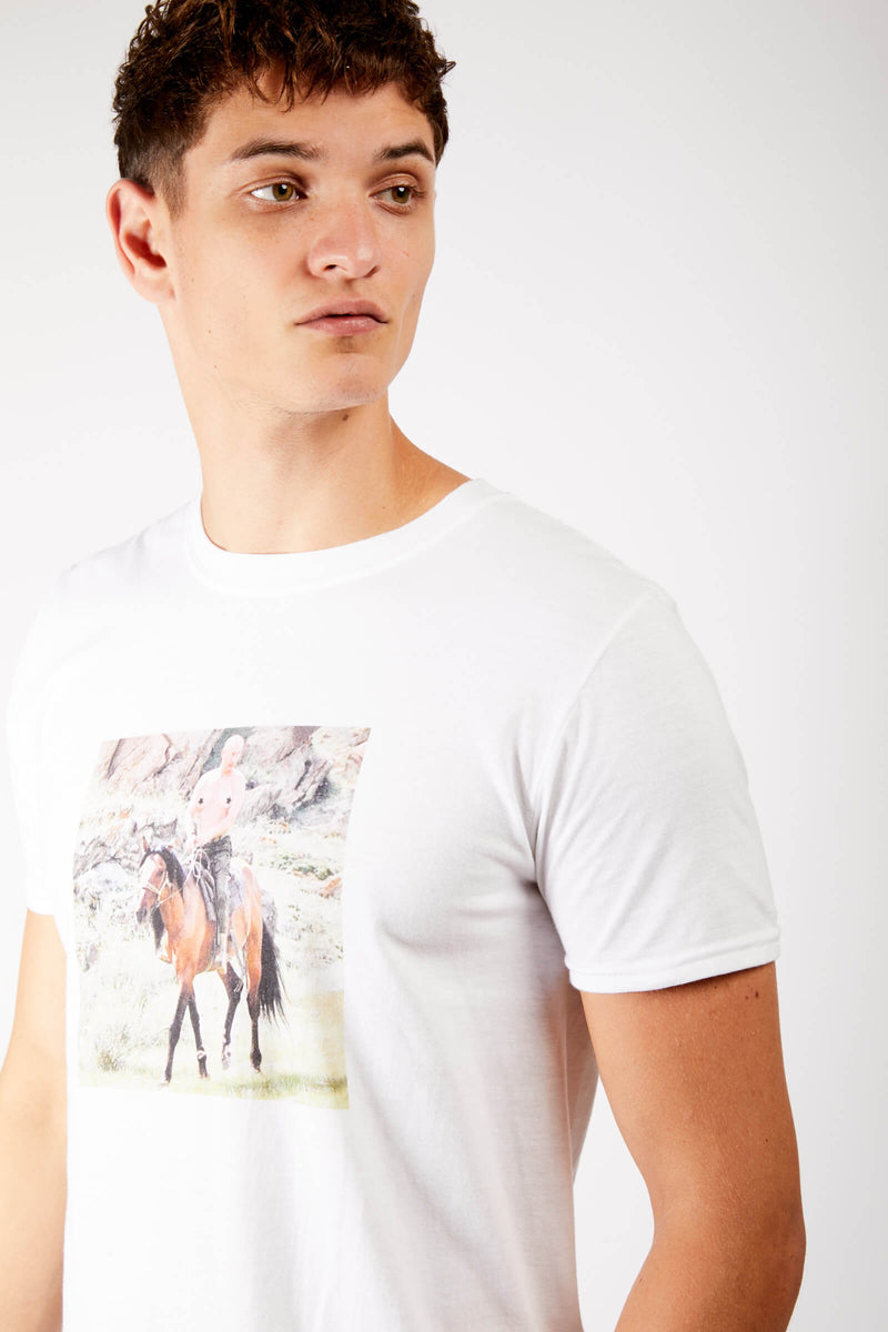 Kenny Schachter 'Putin on a Horse' Print T-shirt