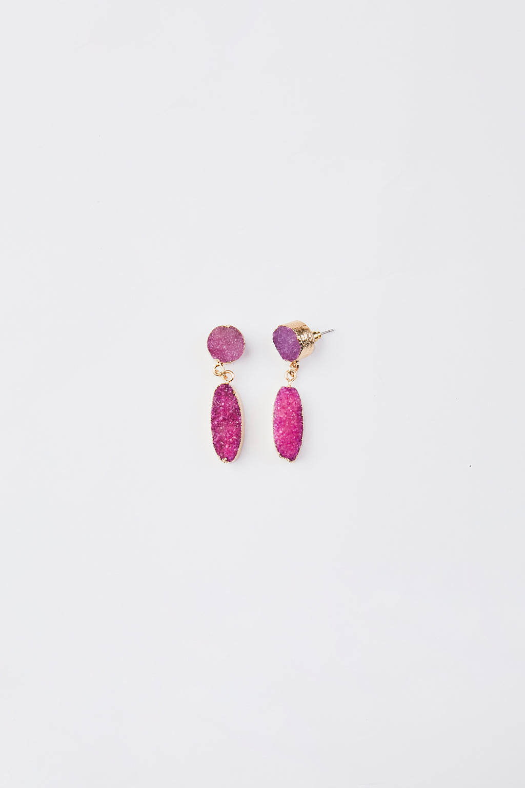 Rough Stone Earrings