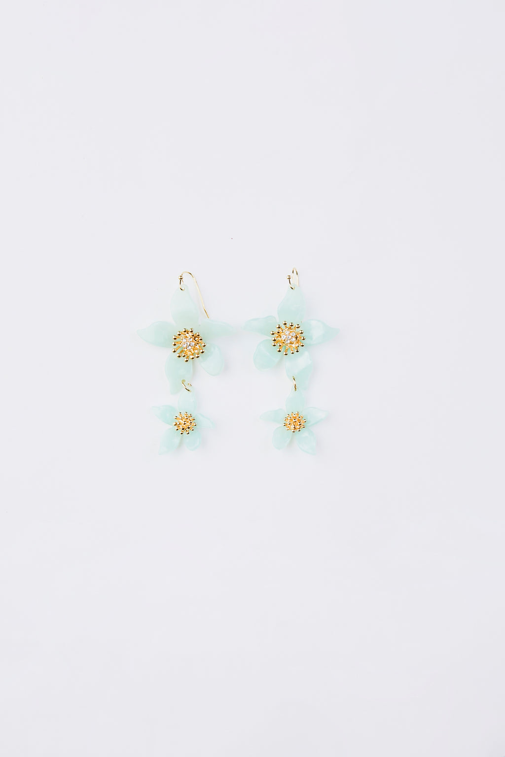 Resin Flower Earrings