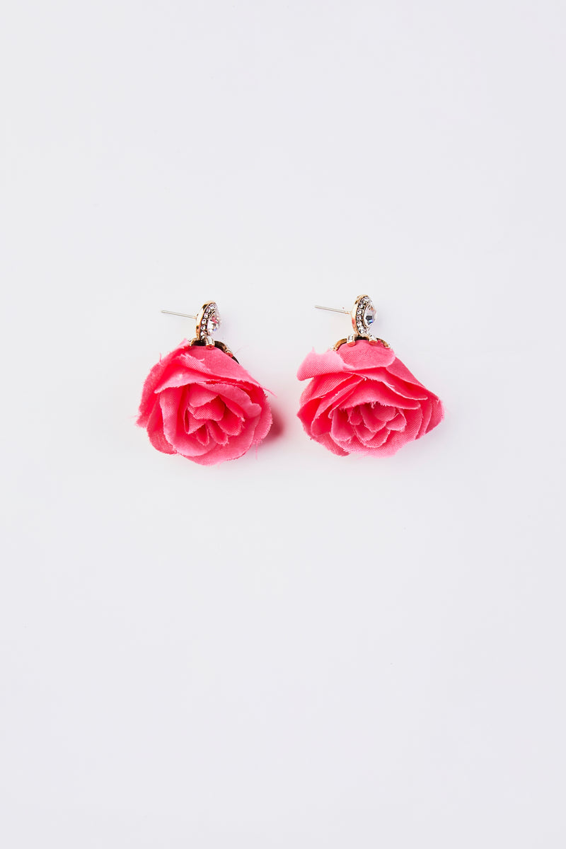 Floral Dangle Earrings