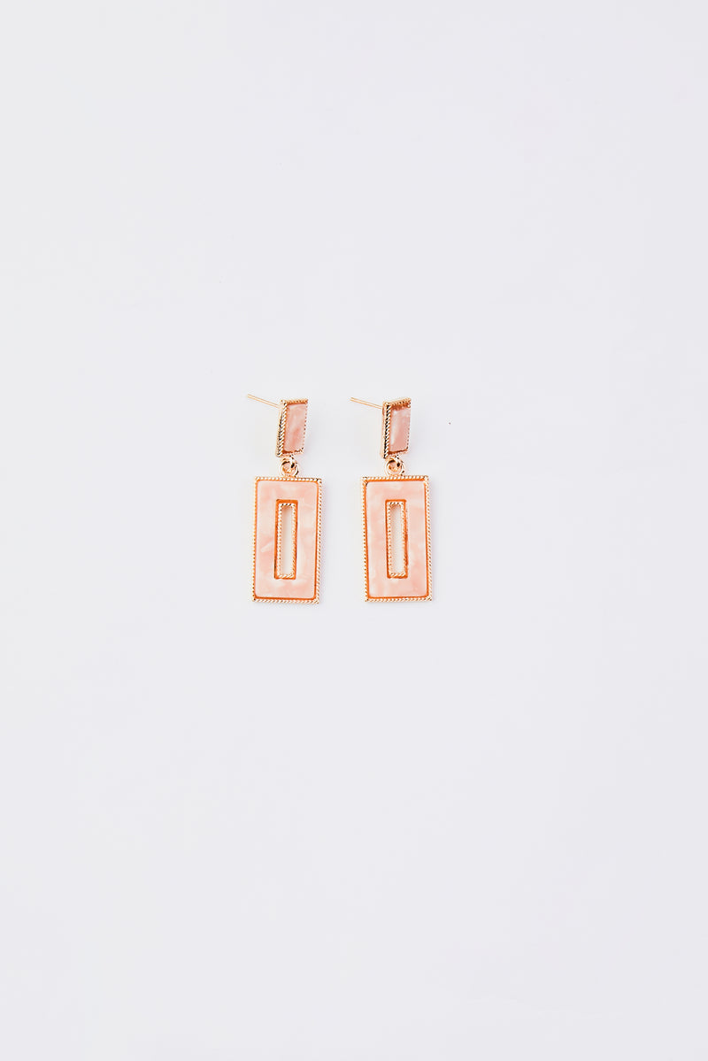 Simple Geometrical Earrings