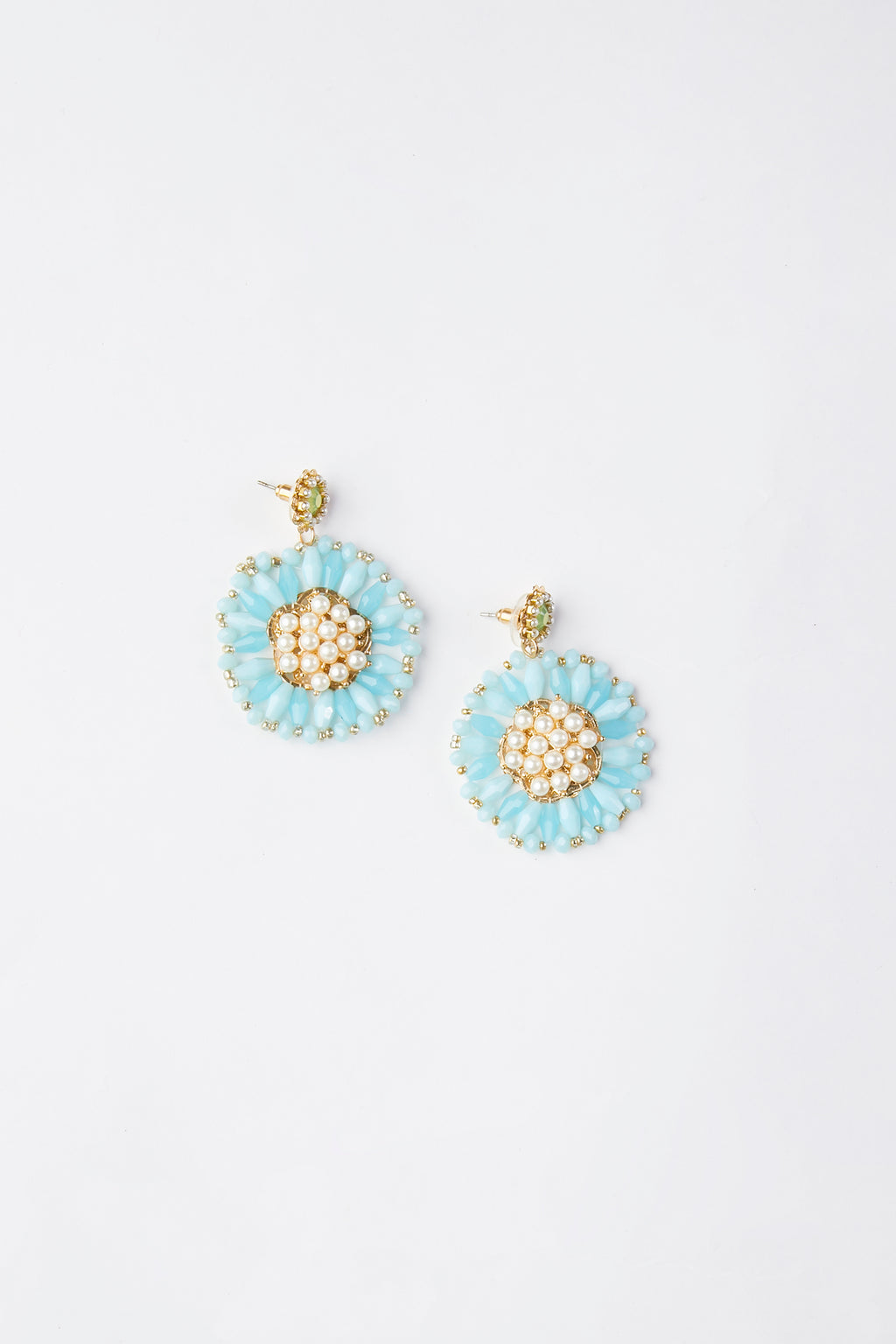 Bloom Flower Bead Earrings