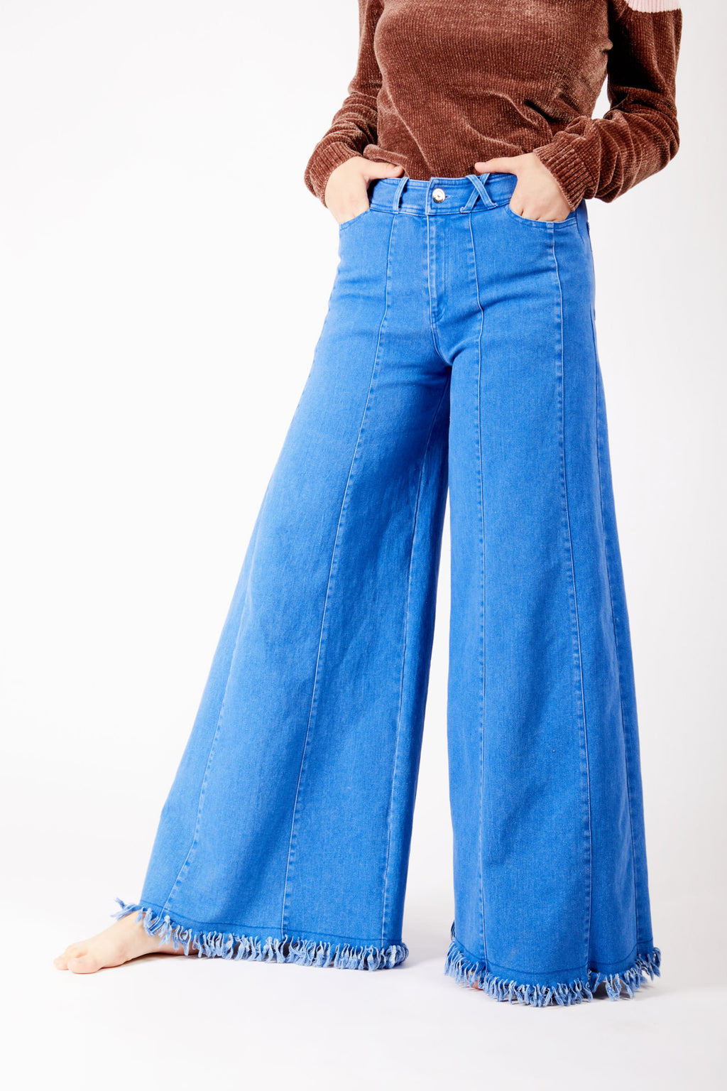 Super Wide Leg Denim Jeans