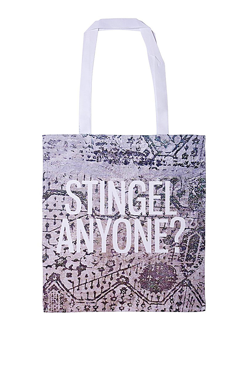 Kenny Schachter Stingel Canvas Tote Bag