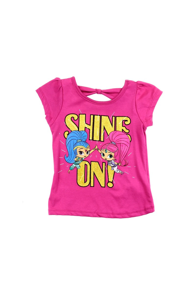 Shimmer and Shine Bow Back T-Shirt