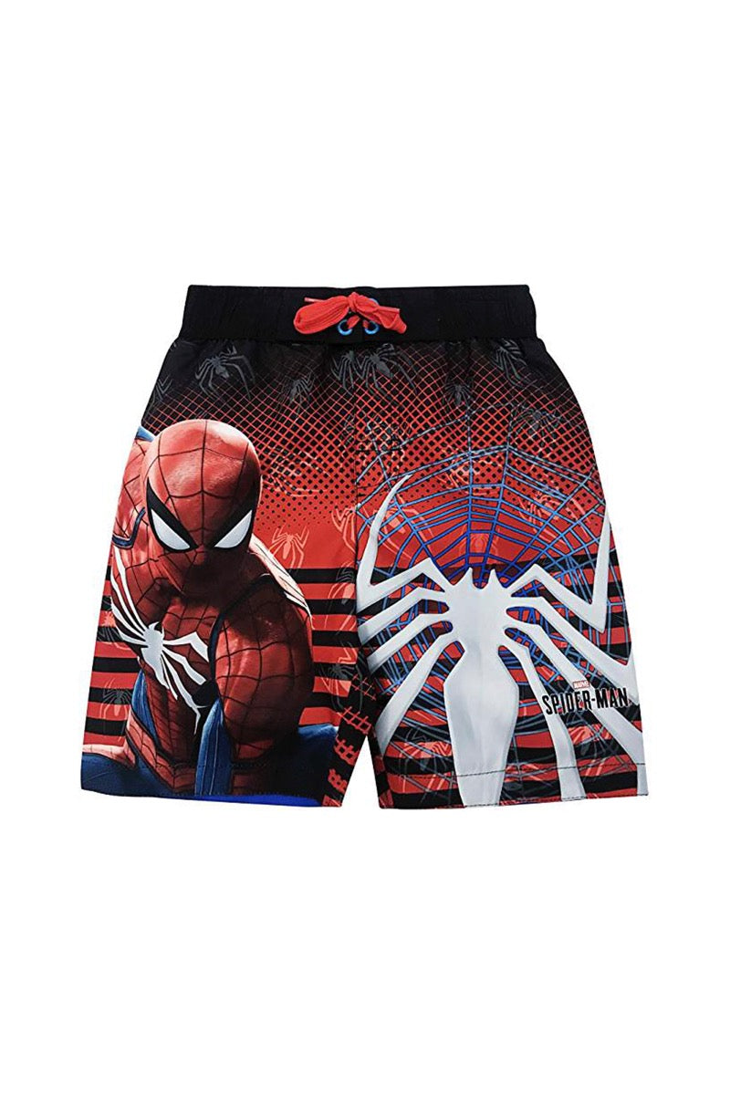 Boys Spider Man Swim Trunk