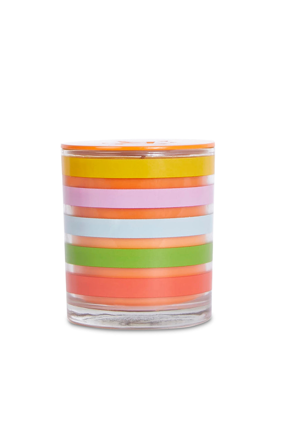 Scented Rainbow Candle