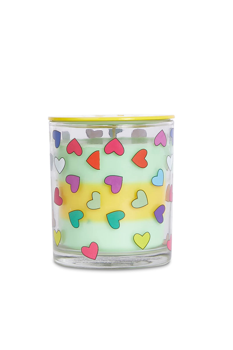 Scented Heart Print Candle