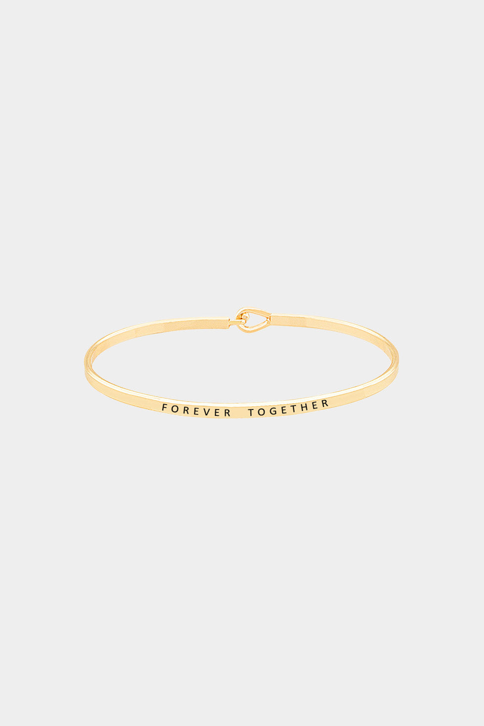"""Forever Together"" Hook Bracelet"