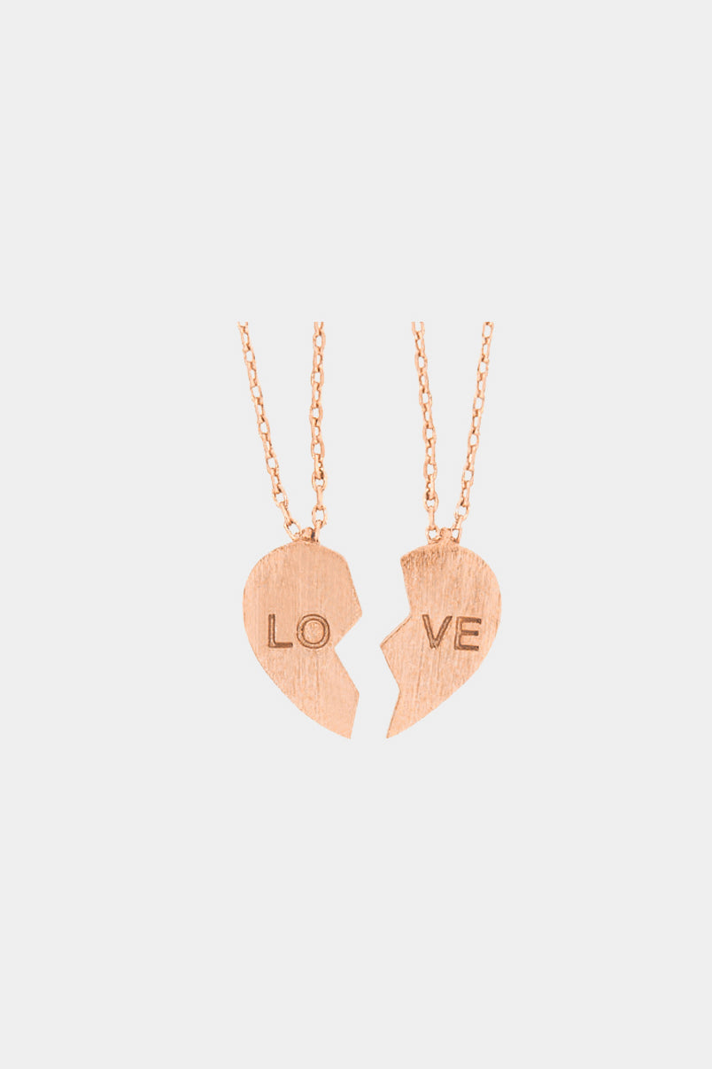 """Love"" Heart Necklace"