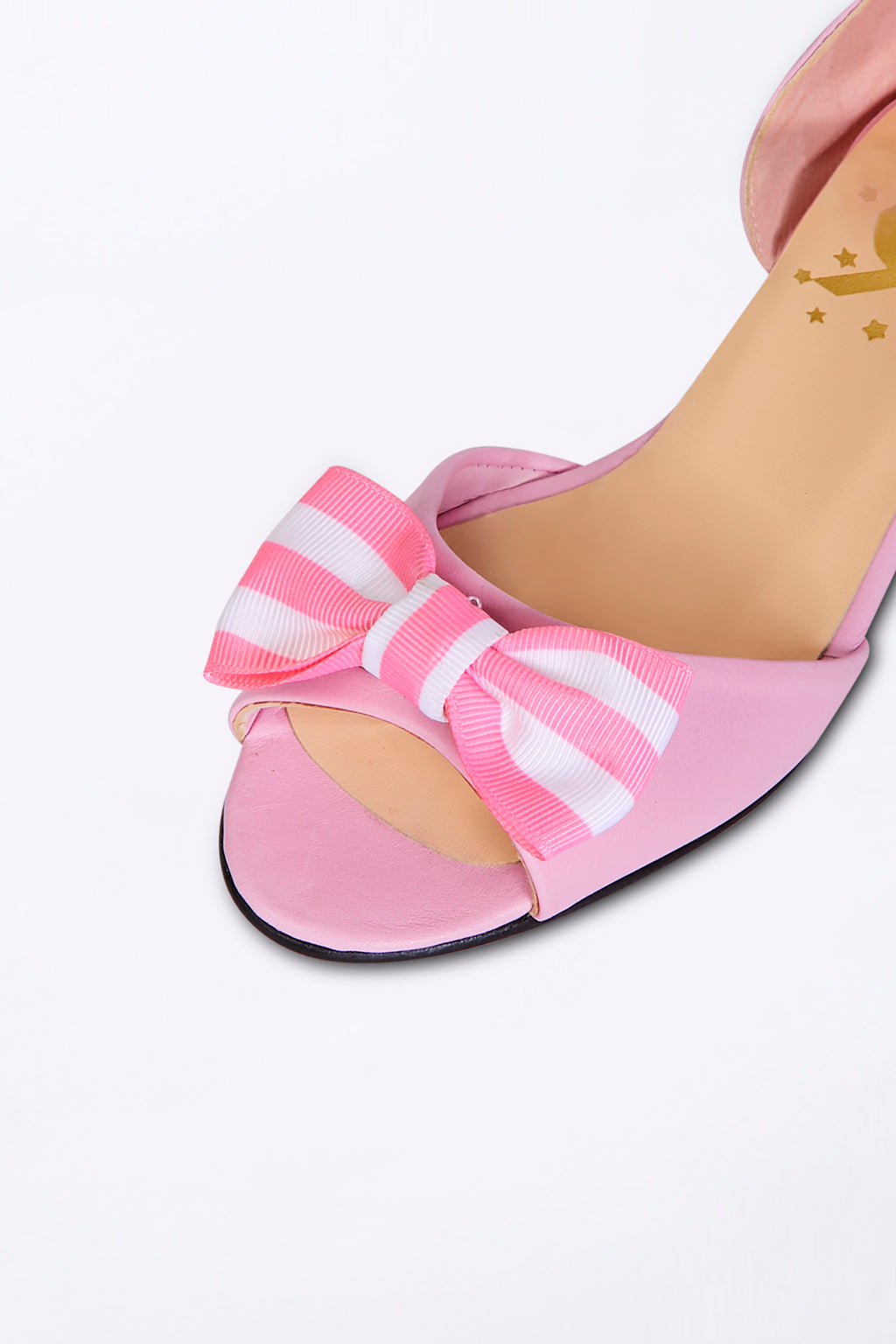 Pink Dancing Heels with Double Pin