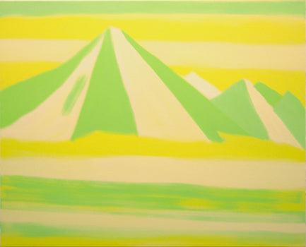 Untitled Mountain (Yellow Light Green)