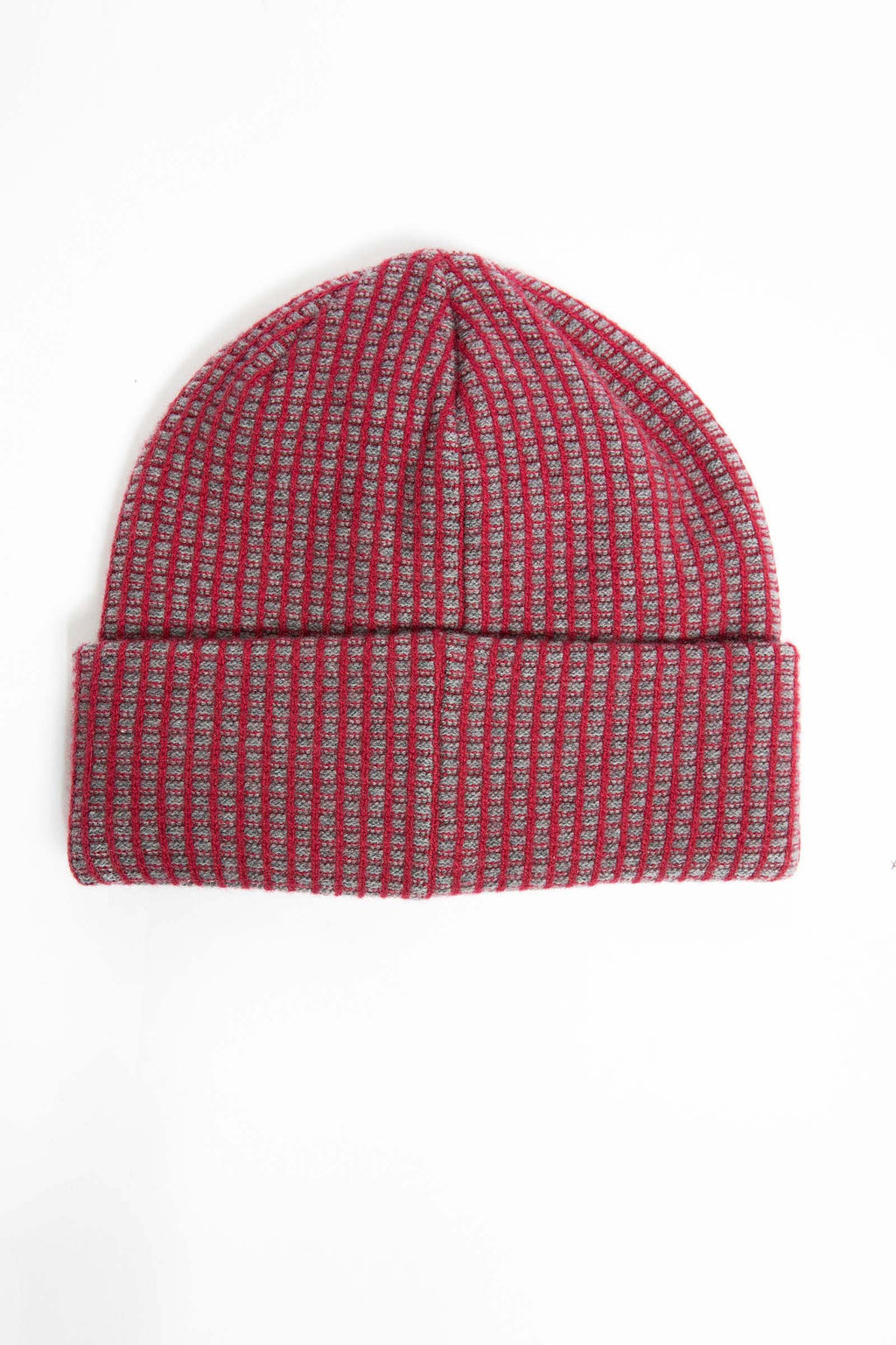 I.S.M. 'Pearl Lager' Red Cashmere Beanie
