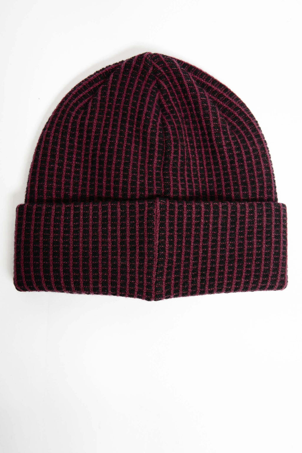 I.S.M. 'Pearl Lager' Burgundy Cashmere Beanie