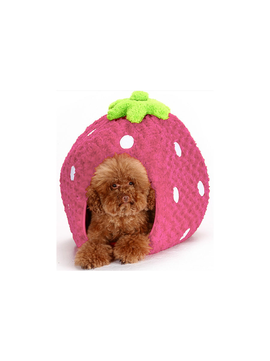 Strawberry Pod Dog House