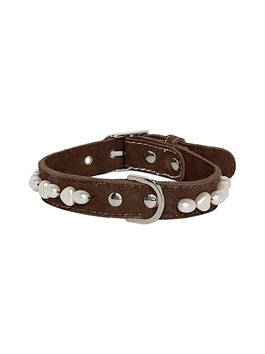 PEARLY POOCH dog collar