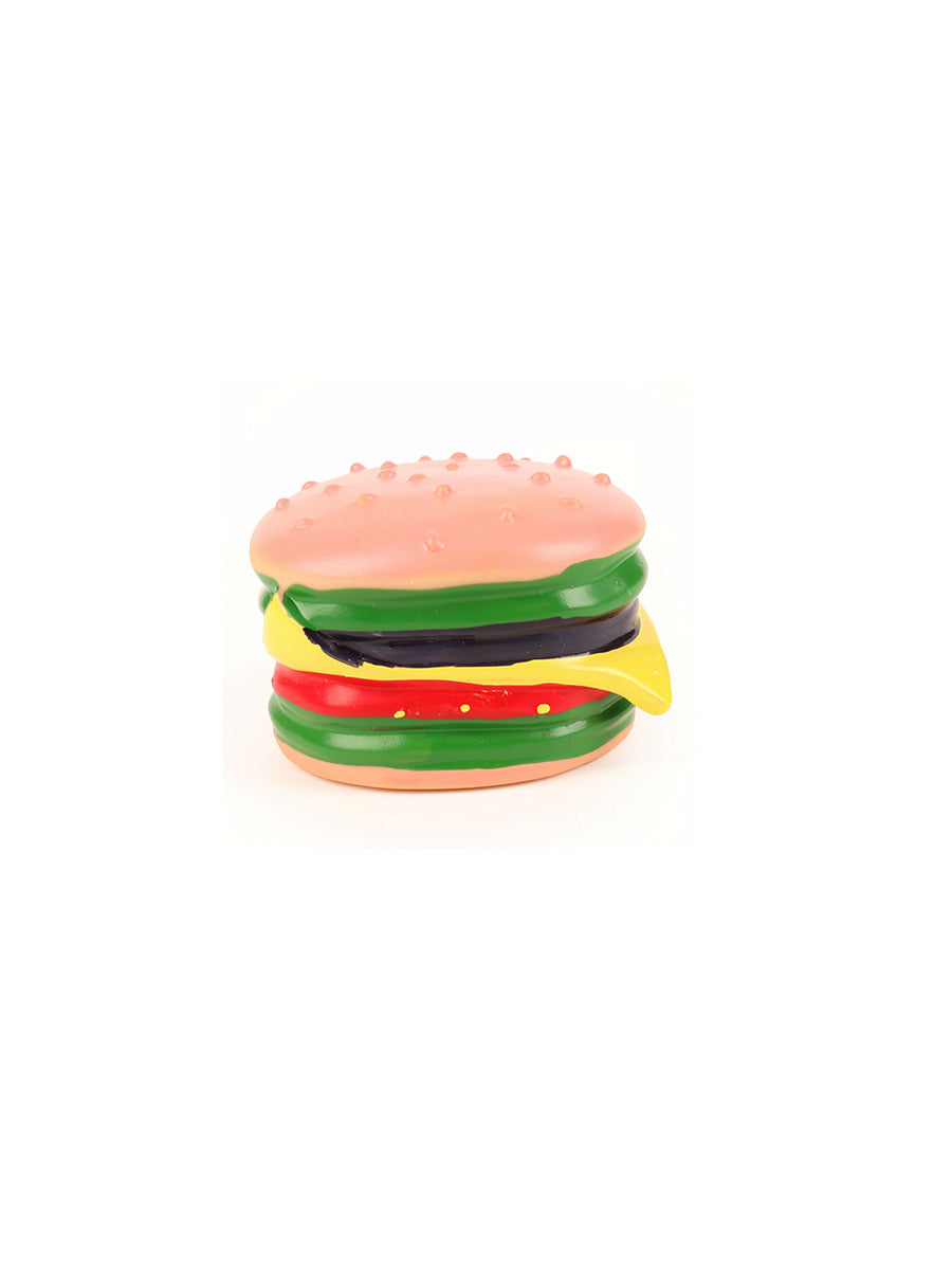 Juicy Burger Pet Toy