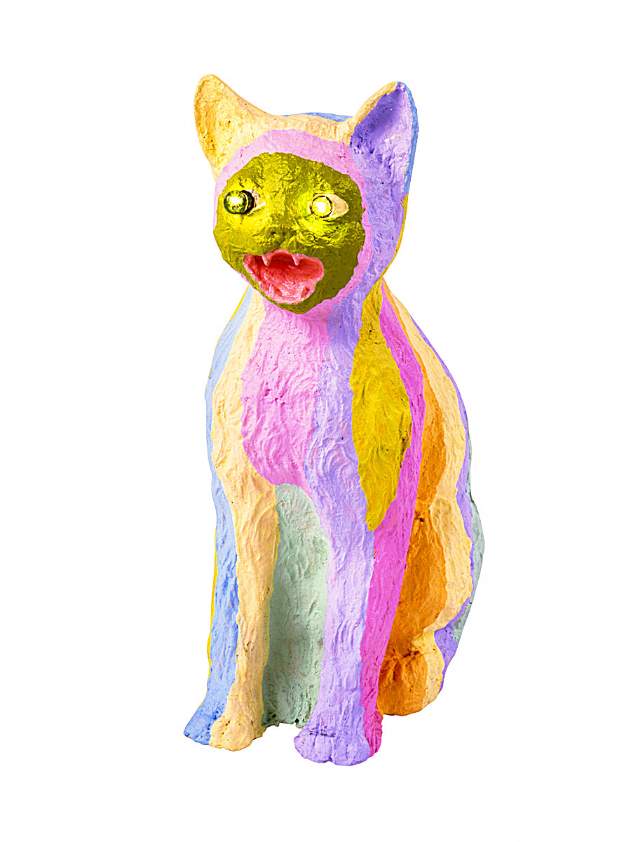 Barking Rainbow Guard Cat