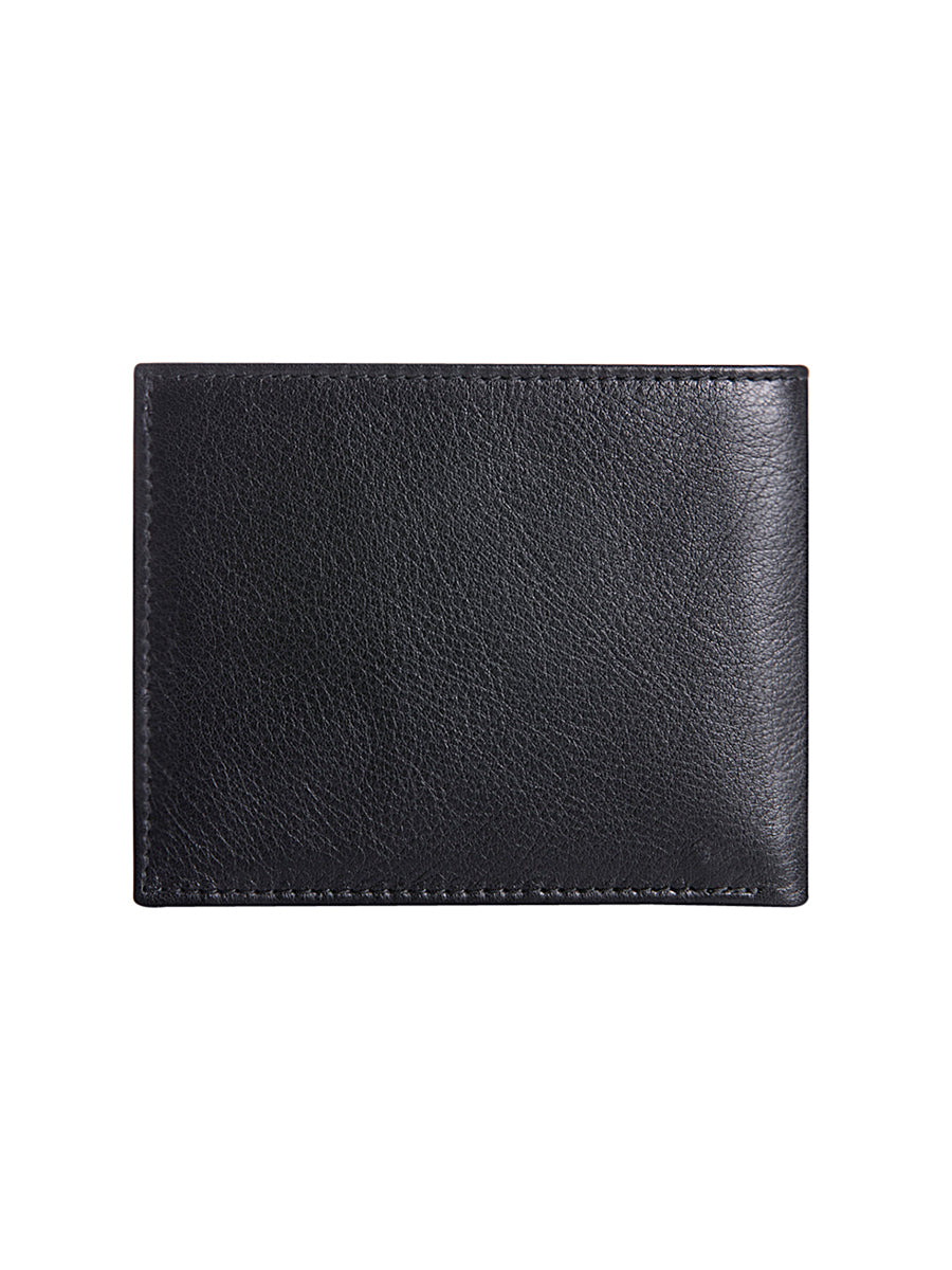 Men's Bifold Wallet with Multicolour Metallic Pockets