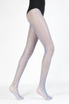 Multicolour Gem Bedazzled Fishnet Tights