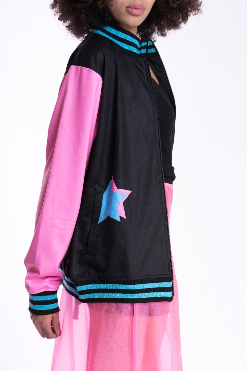 Black Heartbeat Track Jacket sleeve