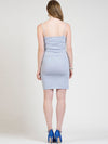 Light Blue Cashmere Bodycon Dress