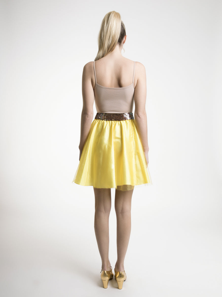 Signature Tulle Prom Mini Skirt