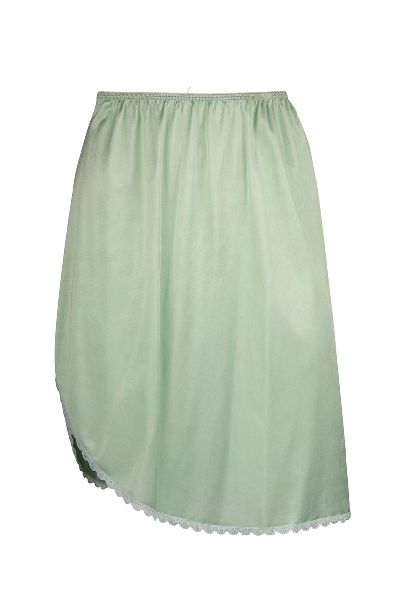 Vintage Mint Slip Skirt