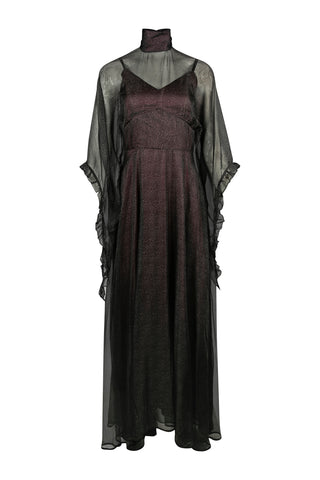 Vintage 1930's Style Silk and Lace Dress